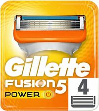 Gillette Fusion PROGLIDE POWER Razor Blades, Refills, 100% GENUINE, BRAND NEW