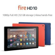 """Amazon Fire HD 10 Tablet with Alexa Hands-Free, 10.1"""" 1080p Full HD Display 32GB"""