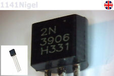 2N3906 TO-92 General Propose PNP Amplifier Transistor  . . . .  (Pack of 2-100)