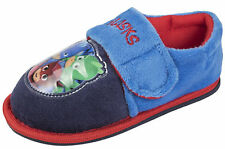 PJ Masks Slippers Touch Fastening Kids Booties Boys Character Mules Size 4-10
