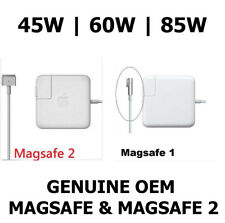 """Apple 85W 60W 45W MagSafe & Magsafe 2 Power Adapter for 13 & 15"""" MacBook Pro Air"""