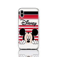 Disney Cartoon iPhone XS Max Cover Silicone iPhone XR Mickey Mouse Case iPhone 8