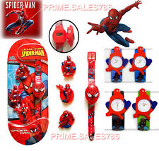 Spiderman Children's Watch For Kids Boys Girls Christmas Birthday Time Gifts