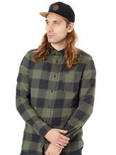 Chemise à manches longues Quiksilver Motherfly Flannel Thyme Check
