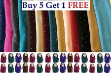 Ladies Womens Plain VISCOSE/RAYON Large Maxi Scarf Hijab Shawl Sarong Wrap*Stone