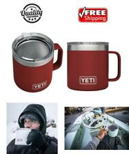 YETI Rambler Double-Wall Vacuum Insulated Mug Lid 14oz Stainless Steel Coffee