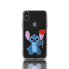 Lovely Stitch iPhone XR Silicone Cover Lilo & Stitch Rubber Cover For iPhone 7 8