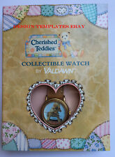 Cherished Teddies Collectable Watches by VALDAWN  Bear Hugs Gift Boxed  FREE P&P