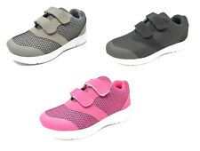 Children's Boys Girls Sports Running Touch Closing Trainers Gym Shoes Size 8-2