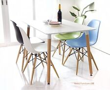 Dining table and 4 chairs retro  DSW Eiffel....-0