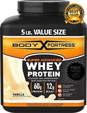 Body Fortress Super Advanced Whey Protein Powder Great Meal  Shakes Low Carbs
