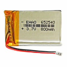 652540 LiPo 3.7V 800mAh Conector JST-PH 2.00mm 2 Pins mp4 GPS bluetooth