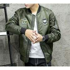 Mens Bomber Jacket with Badges