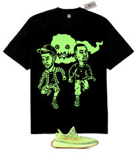 New Fnly94 Kids See Ghosts cartoon shirt  Yeezy Boost 350 V2 Semi Frozen Yellow