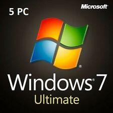 Microsoft Windows 7 Ultimate 1/2/3/4/5 PC - 32&64 Bits OEM Produktkey per Email