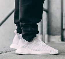adidas Originals Mens NMD_R1 STLT Primeknit Trainers Footwear White / Grey One