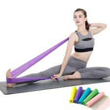 Yoga Resistance Fitness Exercise Bands Workout Loop Pilates Crossfit Elastic