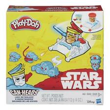 Play-Doh Star Wars Luke Skywalker & Snowtrooper Can-Heads N-I-B ; NEW