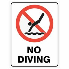 Swimming Pool Users Prohibitive Signs Safety Posters No Flippers ...