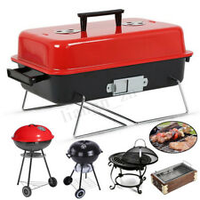 Stainless Steel BBQ Charcoal Grill Outdoor Camping Portable Barbecue Cooking