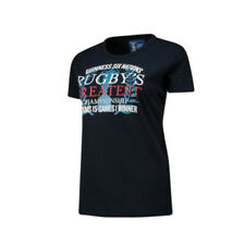 Guinness 6 Nations Rugby Womens Greatest Championship T-shirt | Navy | 2019