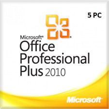 Microsoft Office 2010 Professional Plus (1-5 PC) Produktkey per E-Mail
