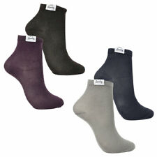 New Womens Tokyo Laundry Sparkle (2 Pack) Ankle Cotton Blend Socks One Size