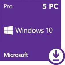 Microsoft Windows 10 Professional, Win 10 Pro (1-5 PC) OEM, Produktkey per Email