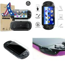 (4-Pack) Screen Protectors For  Playstation Vita 1000 With Back Covers, Akwox 9H