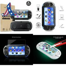 (4-Pack) Screen Protectors For  Playstation Vita 2000 With Back Covers, Akwox 9H
