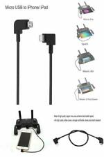Micro USB to Iphone Lightning Data Cable 90 Degree Cord for DJI Spark Mavic Pro