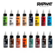 RADIANT TATTOO INK - CARLOX ANGARITA COLOURS - 1oz - RADIANT COLORS