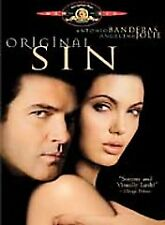 DVD MOVIE: Original Sin (DVD, 2002, R-Rated Theatrical Version & Widescreen)