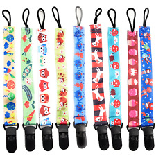 SpiriuS Baby Pacifier Clip Chain Ribbon Holder Soother Pacifier Clips Strap c