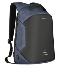 Travel Laptop Notebook Backpack Anti Theft  Bag With USB Charging Port