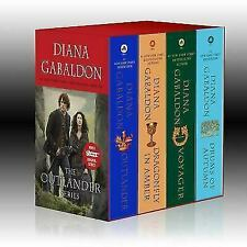 OUTLANDER Series by Diana Gabaldon Mass Market Paperback Boxed Set of Books 1-4