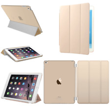 For Apple iPad 4 3 2 mini Air 2 Pro Case Cover Smart Stand Leather Magnetic Gold