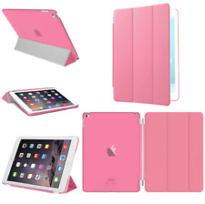For Apple iPad 4 3 2 mini Air 2 Pro Case Cover Stand Leather Magnetic Pink
