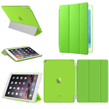 For Apple iPad 4 3 2 mini Air 2 Pro Case Cover Stand Leather Magnetic Green