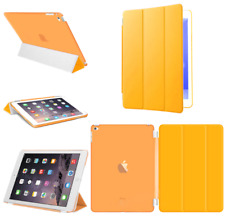 For Apple iPad 4 3 2 mini Air 2 Pro Case Cover Stand Leather Magnetic Orange