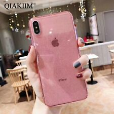 Clear Bling Powder Glitter Soft Ultra Slim Phone Case Cover For Samsung Galaxy