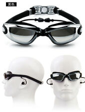 4eae133206f UV protection antifog mirror 0-800 degree short-sighted swimming goggles