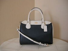 Authentic Coach Colorblock F26153 Mini Bennett Women's Satchel Midnight