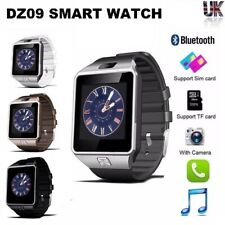 Bluetooth DZ09 Smart Watch For Android HTC Samsung iPhone iOS Camera SIM Slot_