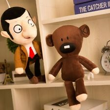 Teddy Bear Mr Bean Plush Toy Doll Figure Stuffed Gift Soft Animal Brown Cute