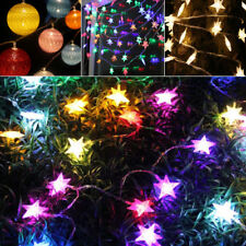 LED Lace Ball Battery String Lights Wedding Party Christmas Home Decor