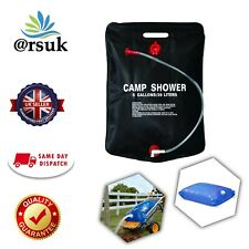 Water Carrier Container Bag Camp Shower Foldable Collapsible Camping Gardening