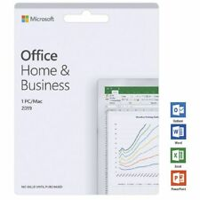 *INSTANT DELIVERY* Microsoft Office Home & Business 2019 Apple Mac/Windows PC