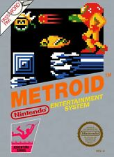 Retro Metroid Game Poster//NES Game Poster//Video Game Poster//Vintage Game Repr