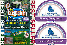 100/% NATURAL BUG PATCHES BEST MOSQUITO REPELLENT 1-10 weeks supply